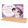 Lulu Shop VERITY ROSE Carte Cadeau Une Soeur Exceptionnelle, Miss Moonstruck