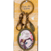 Lulu Shop VERITY ROSE Porte-Clés Charme Perle Rare, Miss Flutterby