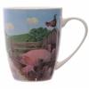 www.lulu-shop.fr Mug En Porcelaine Cochons Dans La ferme Par Jan Pashley - MUG139 - 5