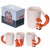 www.lulu-shop.fr Mug blanc en céramique - Anse Renard FOX05 - 1