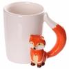 www.lulu-shop.fr Mug blanc en céramique - Anse Renard FOX05 - 2