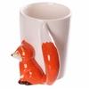 www.lulu-shop.fr Mug blanc en céramique - Anse Renard FOX05 - 3