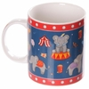 www.lulu-shop.fr Mug en porcelaine tendre - Éléphants du cirque MUG170 - 4