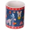 www.lulu-shop.fr Mug en porcelaine tendre - Éléphants du cirque MUG170 - 5