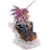 Fée des neiges sur luge - Collection Mystic Realms Lulu Shop 1