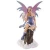 Fée assise avec chouette - Collection Mystic Realms Lulu Shop 1