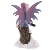 Fée assise avec chouette - Collection Mystic Realms Lulu Shop 3