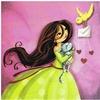 www.lulu-shop.fr carte postale A tire-d'ailes...