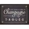 Carte Postale  Il est l'heure de boire du champagne & de danser ... Lulu Shop