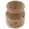 Petit brûleur à huile en céramique en forme de bocal motif Love Lulu Shop 3