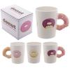Mug Donut Rose à Anse Décorée Lulu Shop 1