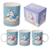 Mug en porcelaine licorne - I Dont Believe In Humans Lulu Shop