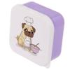 Lot de trois boîtes repas - Chien Carlin Lulu Shop 3