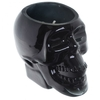 Bougie Cire de Soja Pot Crâne Noir - Rhum Brun Lulu Shop 4