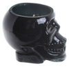 Bougie Cire de Soja Pot Crâne Noir - Rhum Brun Lulu Shop 3