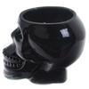 Bougie Cire de Soja Pot Crâne Noir - Rhum Brun Lulu Shop 6