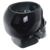 Bougie Cire de Soja Pot Crâne Noir - Rhum Brun Lulu Shop 7