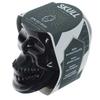 Bougie Cire de Soja Pot Crâne Noir - Rhum Brun Lulu Shop 8