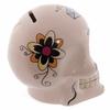 Tirelire crâne jour des morts mexicain blanc lulu shop 2