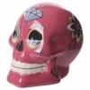 Tirelire crâne jour des morts mexicain petit modèle rose lulu shop 1