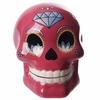 Tirelire crâne jour des morts mexicain petit modèle rose lulu shop 2