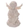 Figurine Ange blancs portant une étoile LED lulu shop 3