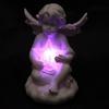 Figurine Ange blancs portant une étoile LED lulu shop 4