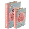 Boîte cadeau en forme de livre  Be in love  lulu shop