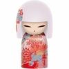 Poupée japonaise kokeshi Kimmidoll Himeko Charme 6cm lulu shop