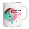 Mug paresseux Lentement mais sûrement lulu shop (2)