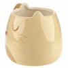 Mug Chat Caramel Beige & Brun 3