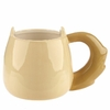 Mug Chat Caramel Beige & Brun 4