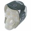 Bougie Cire de Soja - Pot Crâne Blanc Bois de Santal 3