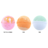 Lot de 3 Boules de Bain Fruitées carlin Pugs and kisses