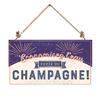 Economisez l'eau buvez du champagne