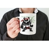 Mug Cadeau pour Végan  Panda Yoda Végan lulu shop (2)