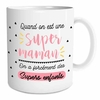 Mug Family & Friend  Quand on est une Super Maman, on a forcément des supers enfants lulu shop
