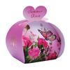 Lulu shop Savon ballotin cadeau d'invité rose d'été