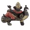 Statuette Ganesh sur Banc Paon lulu shop 3