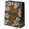 Sac Cadeau Métallique Crânes & Roses - Large lulu shop 1