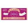 Tablette de chocolat Message  Je te souhaite un joyeux anniversaire lulu shop