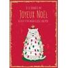 Lulu-Shop.fr Cartes postales Je te souhaite un Joyeux Noël autour d'un magnifique 'chatpin' 3326211