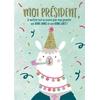 Lulu-Shop.fr Cartes postales Moi Président, Je mettrai tout en oeuvre pour vous garantir une BONNE ANNÉE et une BONNE SANTÉ! 3326318