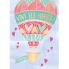 Lulu-Shop.fr Cartes postales musicales Vive les mariés !