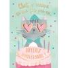 Lulu-Shop.fr Cartes postales musicales Lulu-Shop.fr Cartes postales musicales Chat n'arrive qu'une fois par an... Joyeux Anniversaire !