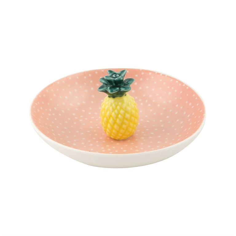 Coupelle en porcelaine Ananas lulu shop