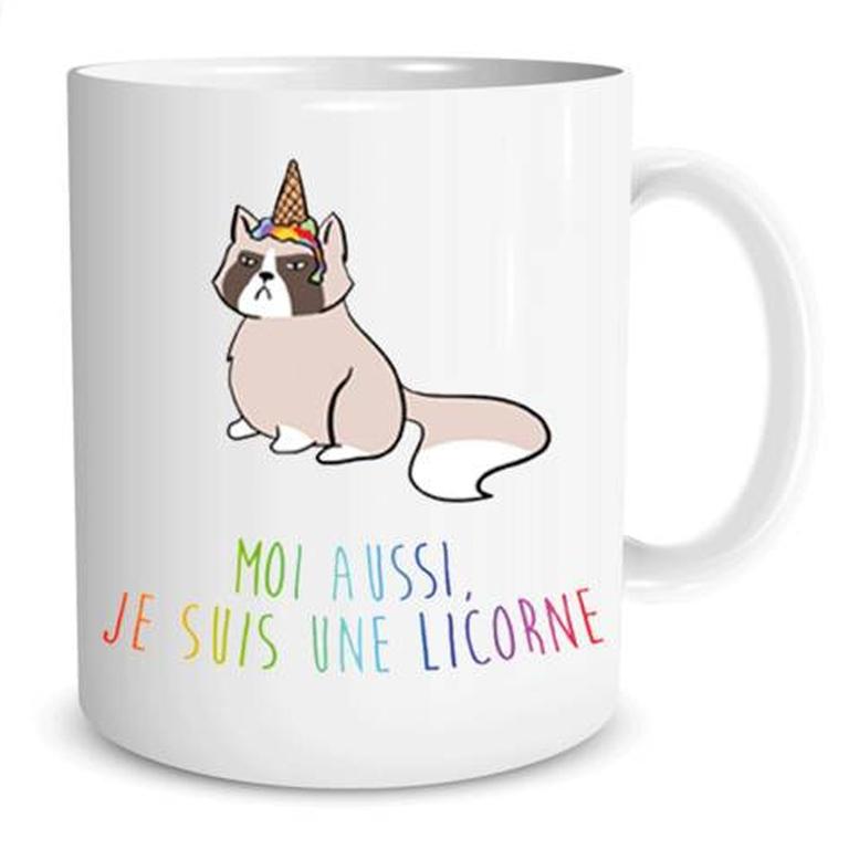 Mug Licorne  Moi aussi je suis une Licorne lulu shop