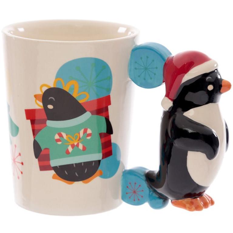 Mug Pingouin de Noël lulu shop 1