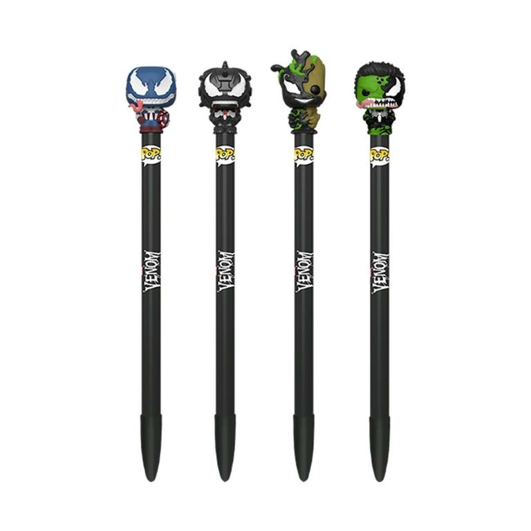Stylos Venom Funko POP! stylos à bille avec embouts Venom Lulu Shop
