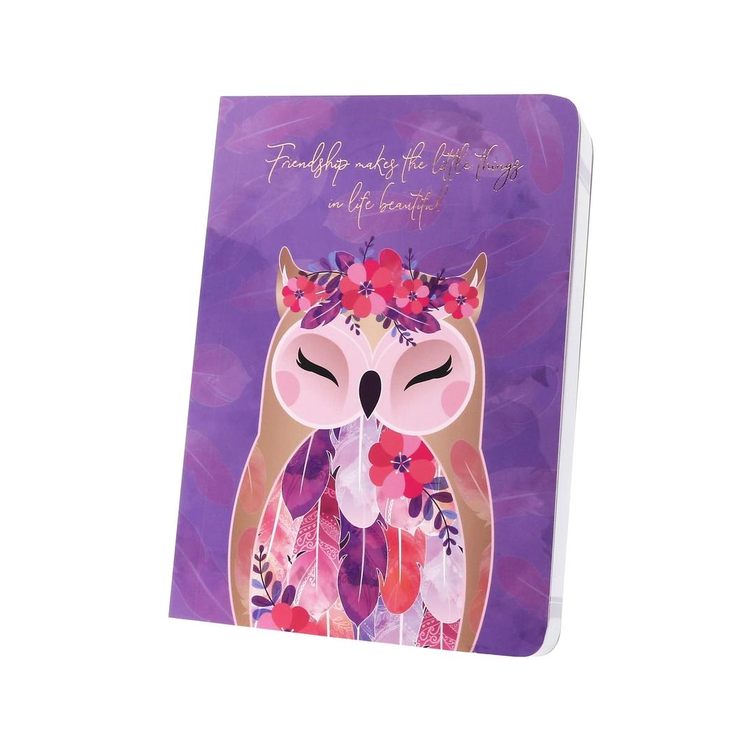 Carnet Chouette Wise Wings Gratitude lulu shop